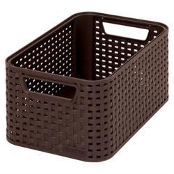 Aufbewahrungs Korb 28x19x13cm Kiste Box Körbchen Bad Schrankkorb Küche Regalkorb