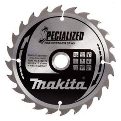 Makita Kreissägeblatt 165 x 20mm mit 24 Zähne B-09173 Sägeblatt extra dünn 1,5mm