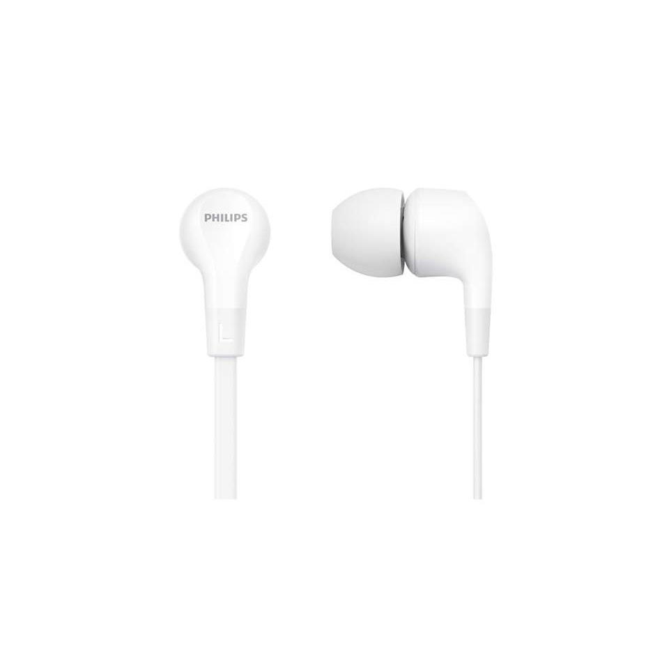 Philips In Ear Kopfhörer & Headset im Ohr Weiß TAE1105WT/00 Klarer Sound,Philips,TAE1105WT/00, 4895229110397