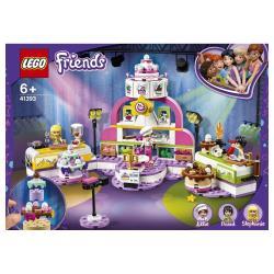 LEGO 41393 Friends Die große Backshow, Spielset mit Kuchen, Cupcakes, Minipuppe