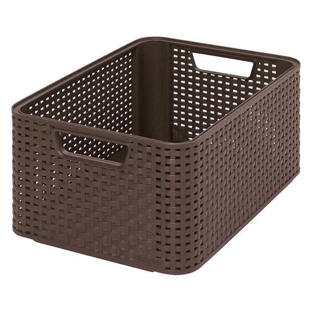 CURVER Aufbewahrungsbox, Polypropylene, 39 x 29 x 17cm Plastik Schokoladenbraun,CURVER,205844, 3253923615005