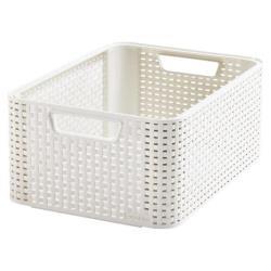 CURVER Aufbewahrungsbox, Polypropylene, 39 x 29 x 17cm Plastik Elfenbein