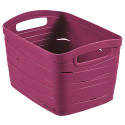 CURVER Aufbewahrungskorb Ribbon 8L, 27 x 21 x 17cm Plastik lila Box
