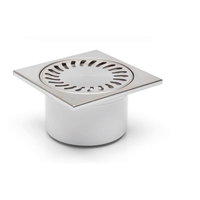Bodenablauf senkrecht Edelstahlgitter Duschablauf Badablauf mit Geruchsverschluß,chud,321 N, 8595587400630