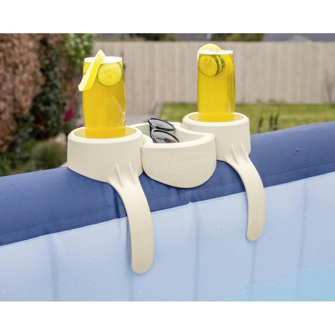 Bestway LAY-Z-SPA Getränkehalter für 2 Personen inklusive Ablage Whirlpool ,Bestway,60306, 6942138981209