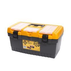 Werkzeugbox leer 26,7x24,2x48,6 cm Werkzeugkoffer Werkzeugkasten Werkzeugkiste