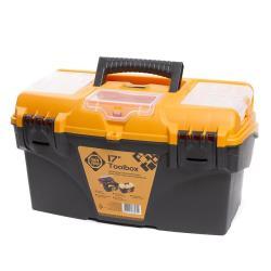 Werkzeugbox leer 25x23,8x43,4 cm Werkzeugkoffer Werkzeugkasten Werkzeugkiste