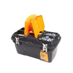 Werkzeugbox leer 26,3x25x49,4 cm Werkzeugkoffer Werkzeugkasten Werkzeugkiste