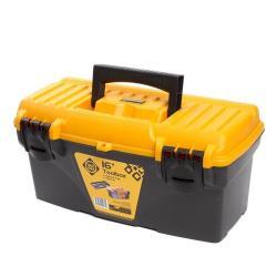 Werkzeugbox leer 20,9x19,5x41 cm Werkzeugkoffer Werkzeugkasten Werkzeugkiste