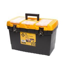 Werkzeugbox leer 26,7x32x48,6 cm Werkzeugkoffer Werkzeugkasten Werkzeugkiste