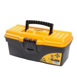 Werkzeugbox leer 16,5x13,6x32 cm Werkzeugkoffer Werkzeugkasten Werkzeugkiste