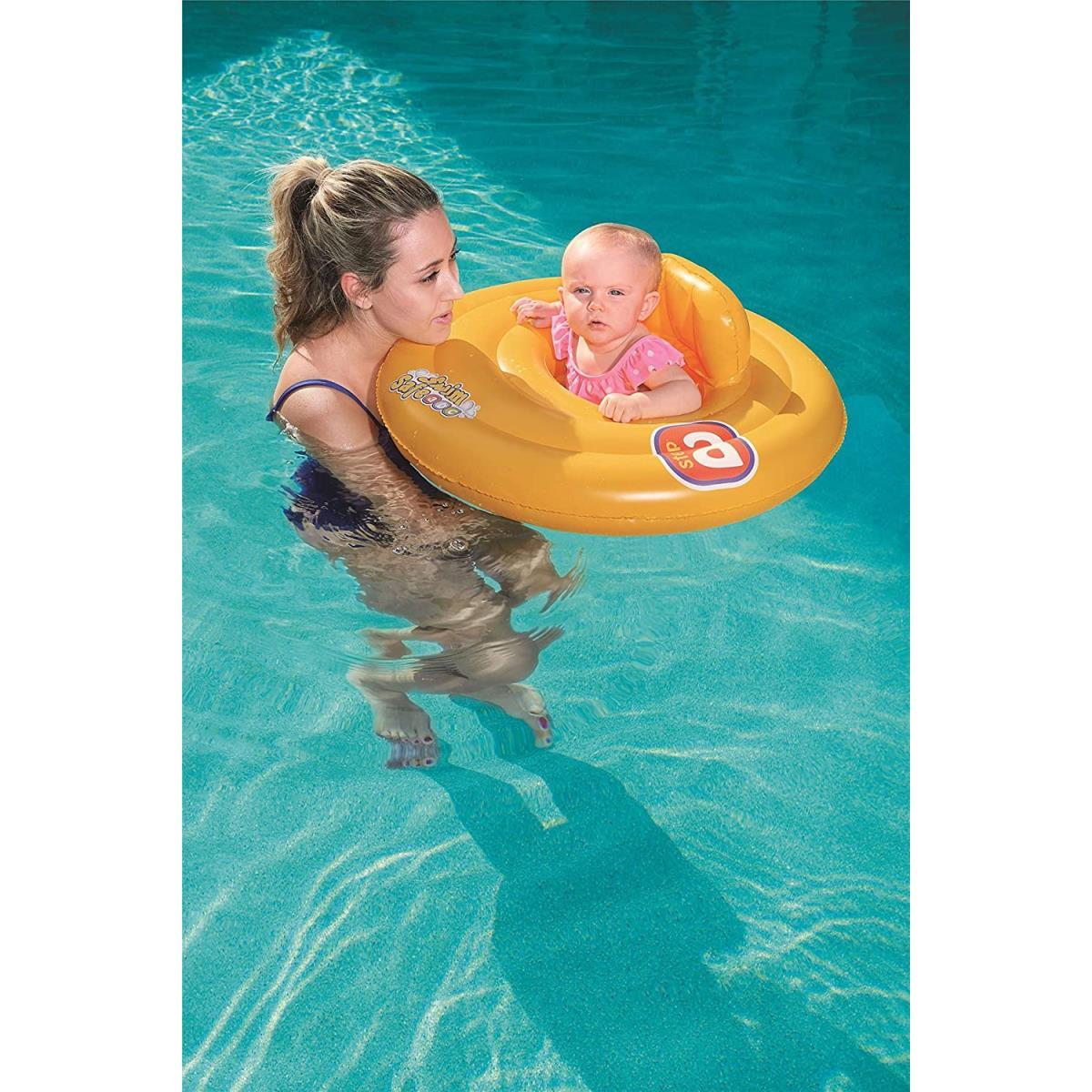 Baby Schwimmsitz Schwimmreifen Schwimmring Schwimmhilfe 0-1 Jahre,Bestway,32096, 6942138915785