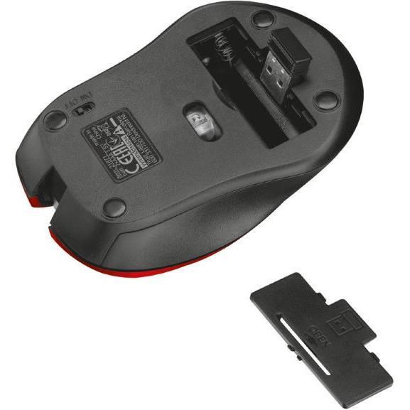 Trust Mydo Silent Click Funk Kabellose Maus Wireless Funkmaus mit Batterien,Trust ,21871-03, 8713439218718