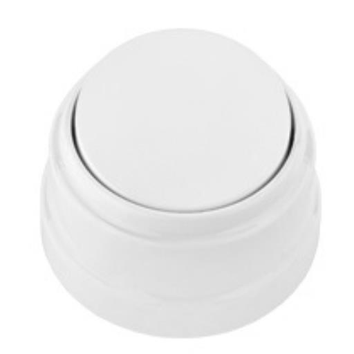 Aufputz einfach Lichtschalter Schalter 10 A 230 V Weiß serie Retro ,Bylectrica,A1 10-2201, 4810158072554
