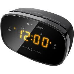 Radiowecker mit dualer Alarm M-150-CR schwarz