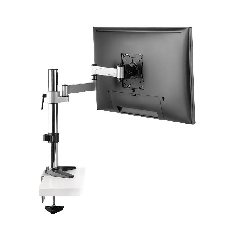 LogiLink Monitorarm Armlänge 396 mm Schreibtischhalterung (13-27 Zoll) LCD PC,Logilink ,BP0076, 4052792054194