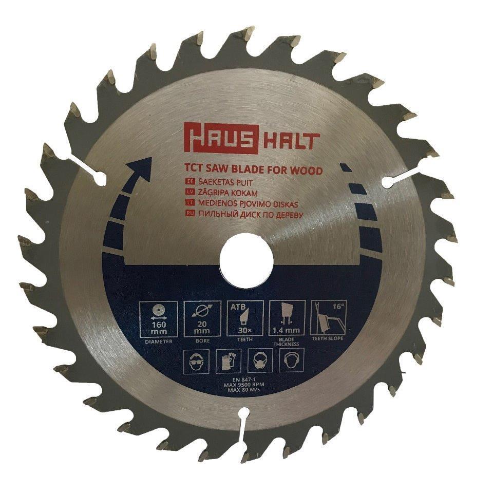Sägeblatt 160mm Kreissägeblatt für Holz, 30 Zähne, Innen 20-16mm,Haushalt,000040068971, 4772013228349
