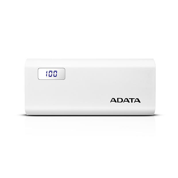 ADATA Powerbank 12500mAh Tragbare Zusatzakku Batterie Ladegeräte für alle Handys,ADATA,P12500D, 4712366966710