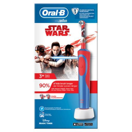 Oral-B Elektrische Zahnbürste Stages Power Kids Star Wars für Kinder,Oral-B,600228878, 4210201202714