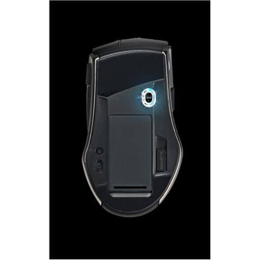 Gigabyte M9 Ice Drahtlose Lasermaus Kabellos Maus für fast jeder Oberfläche,Gigabyte,Force M9 Ice, 4719331547127