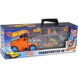 Hot Wheels Transporter 40 LKW Koffer mit Autos