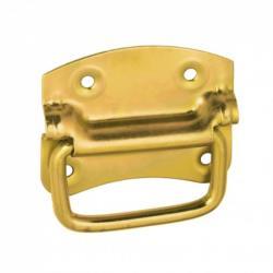 Kistengriff 90 x 70 mm Klappgriff Boxengriff gelb verzinkt ,Domax,8831, 5907708131904