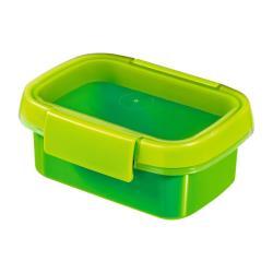 Vorratsbehälter mit Gummideckel  0,2L Frischhaltedose Aufbewahrungsbox Grün
