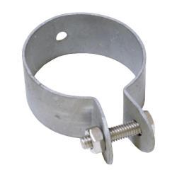 10x Endschelle Ø 38 mm Zaunpofsten Zäune Pfostenschelle Zaun Pfosten