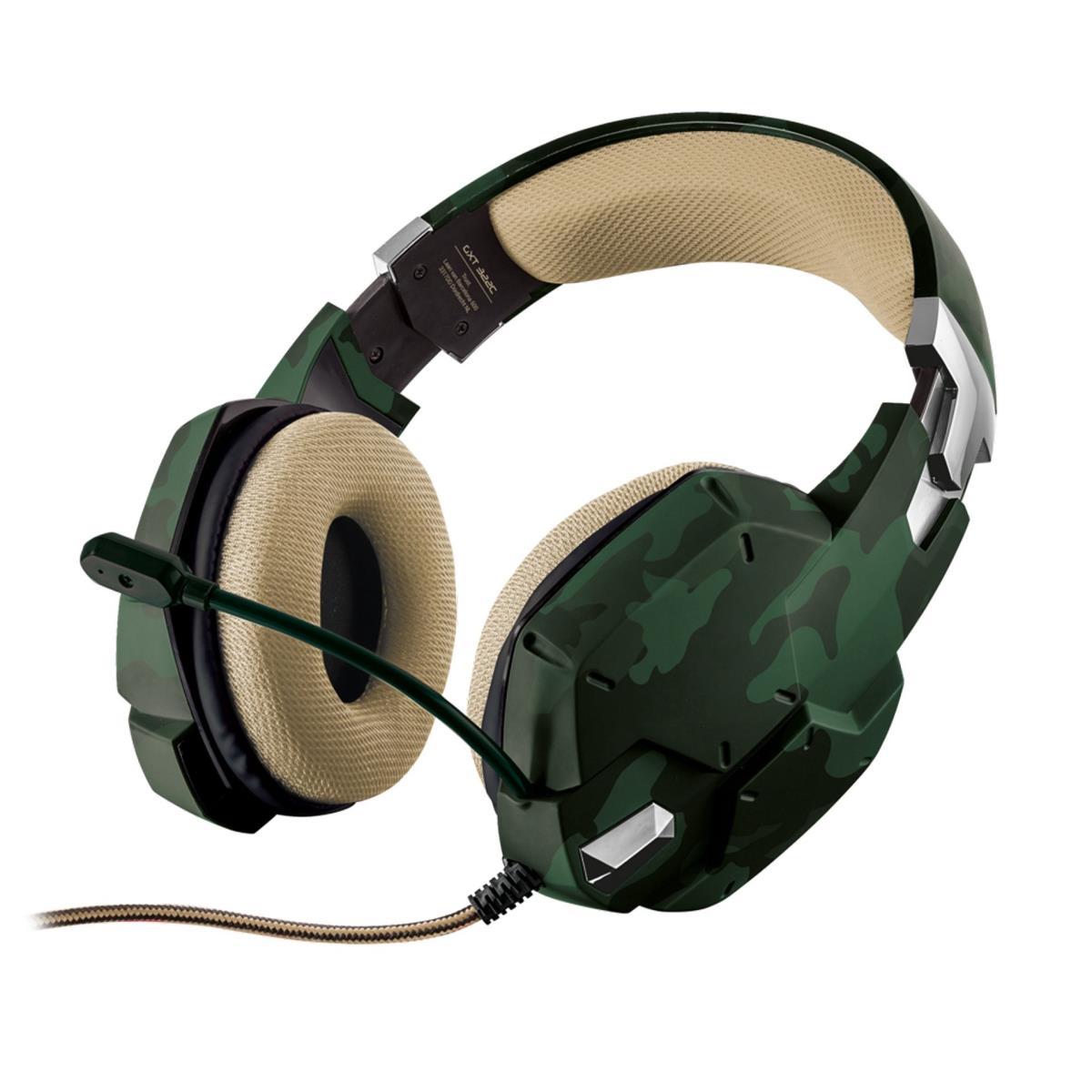 Gamingkopfhörer Headset Kopfhörer Stereo mit Mikrofon ,Trust,GXT 322C, 8713439208658