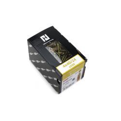 500x Holzschrauben Schrauben 4 x 40 mm Spanplattenschrauben Kreuzschlitz PZ2,Haushalt,000051371147, 4772013114321