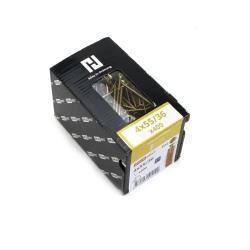 400x Holzschrauben Schrauben 4 x 55 mm Spanplattenschrauben Kreuzschlitz PZ2,Haushalt,000051371153, 4772013114420