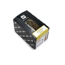 400x Holzschrauben Schrauben 4,5 x 50 mm Spanplattenschrauben Kreuzschlitz PZ2,Haushalt,000051371172, 4772013114611