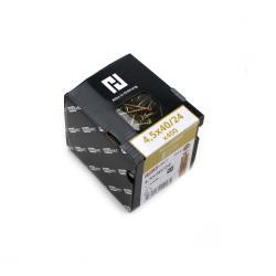 400x Holzschrauben Schrauben 4,5 x 40 mm Spanplattenschrauben Kreuzschlitz PZ2,Haushalt,000051371168, 4772013114574