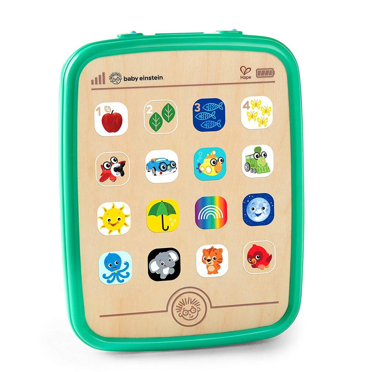 Baby Einstein Hape Magic Touch Tablet Musikspielzeug über 150 Melodien,Hape,11778, 6943478027268