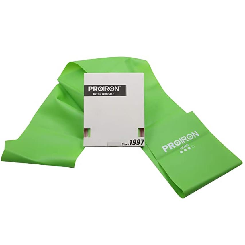 Fitnessbänder Theraband Fitness Latexfrei Übungsband Gymnastikband Krafttraining,PROIRON,PRO-LLP-3, 6942590002542