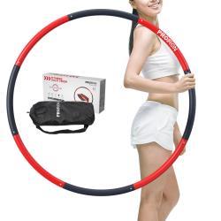 PROIRON Fitness Hula Hoop Reifen 1,35 kg bis 1,8 kg Gewichten Ø 73 cm bis 98 cm