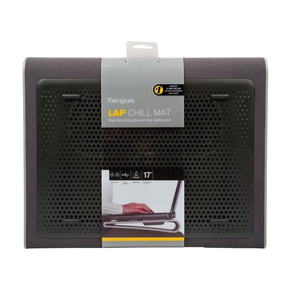 "Targus Notebook Laptop Kühlpad bis zu 17"" Cooling Pad mit 2 Ventilatoren Kühler ,Targus,AWE55GL, 5051794027297"
