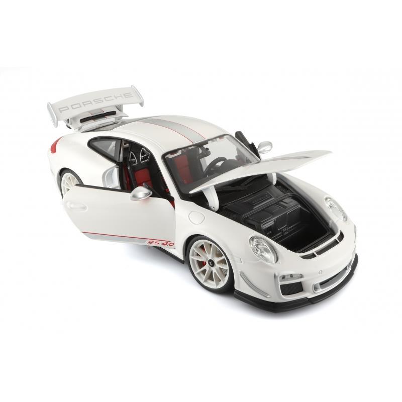 Bburago Auto Modell 1:18 Porsche GT3 RS 4.0 Farbe nicht frei wählbar,Bburago,18-11036, 4893993110360