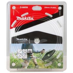 Makita 2-Zahn-Schlagmesser 230 x 25,4 mm Motorsense Freischneidermesser