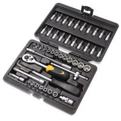 Werkzeugkasten 51tlg Werkzeugkoffer Werkzeugkiste Werkzeug Schrauben