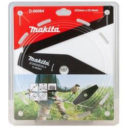 Makita 2-Zahn-Schlagmesser 255 x 25,4 mm Motorsense Freischneidermesser