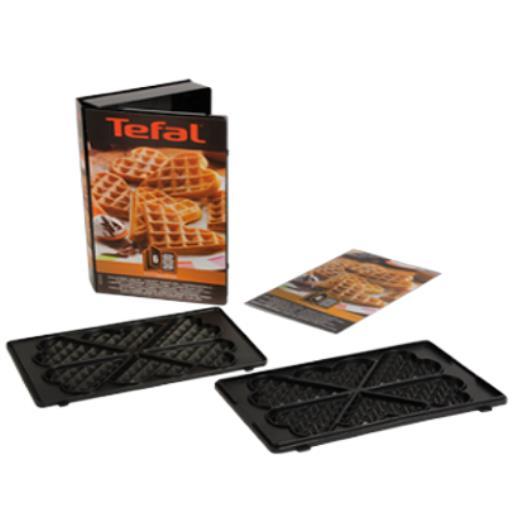 Tefal Snack Collection Platte Herzwaffeln für Waffeln Sandwich Maker Waffeleisen,Tefal,XA8006, 3045386366187