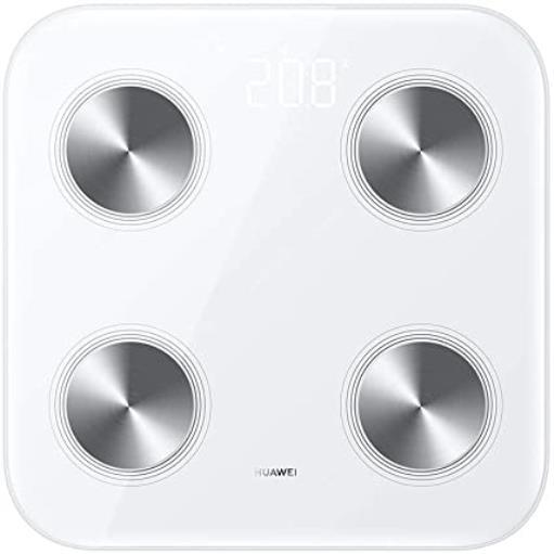 Huawei Scale 3 Personenwaage Körperfettwaage Bluetooth Wlan Analyse Waage,Huawei,55026228, 6941487202638