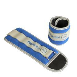 2x 1 kg Gewichtsmanschetten für Fuß/Handgelenk Gewichte Fitness Gewichtsbänder
