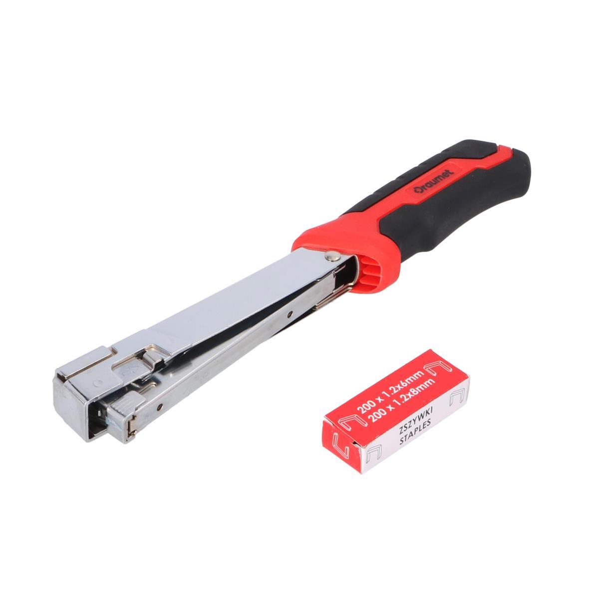 Hammertacker Typ G  Tacker Handtacker Klammergerät,DRAUMET,8986, 5907078989860
