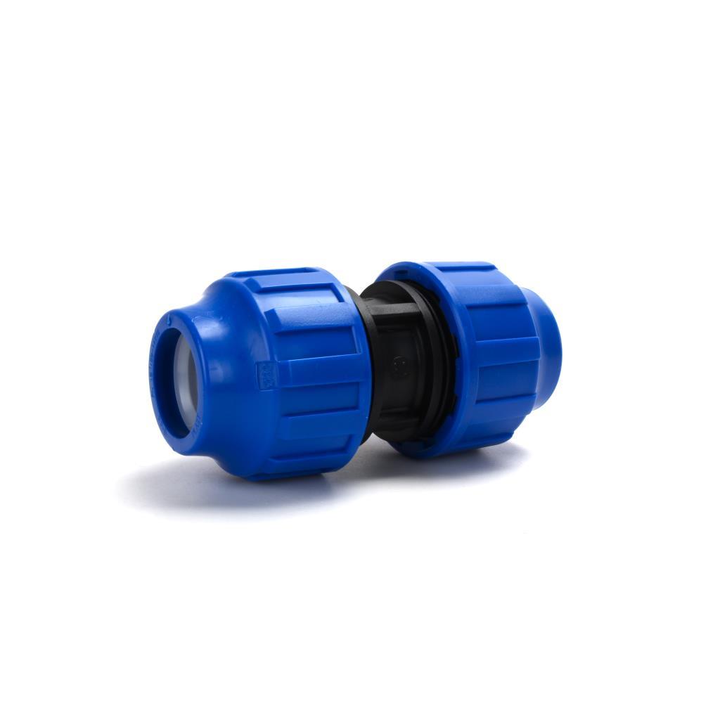 PP Klemmfitting Rohr Verschraubung Trinkwasser DVGW Kupplung Ø32,STP,701032, 8435006800040