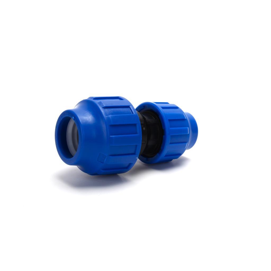 PP Klemmfitting Verschraubung Trinkwasser DVGW Kupplung reduziert Ø32 x Ø25 ,STP,702032, 8435006800125