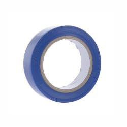 10x Elektriker Klebeband Isolierband Isoband - Blau 15mm x 10m