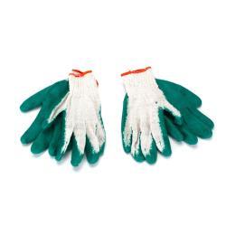 2 Paar Arbeitshandschuhe Gartenhandschuhe Latex grün Größe L,NoName,GL05G, 6949105501057