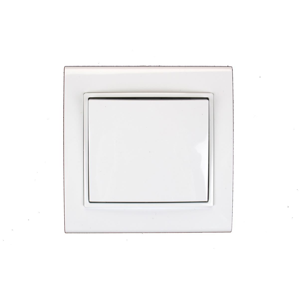 unterputz lichtschalter wei 10 a 230 v. Black Bedroom Furniture Sets. Home Design Ideas